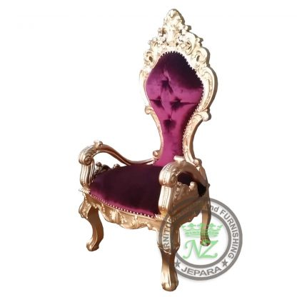 Exclusive Carved Valerie Side Chair