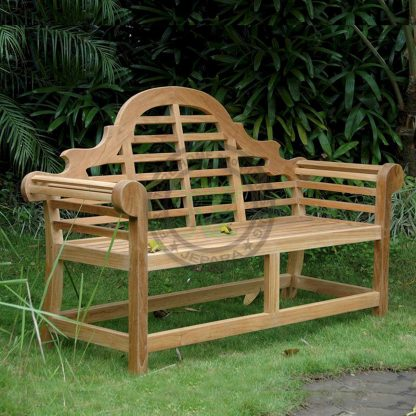 Teak Outdoor Marlborough 2 Seater Bench