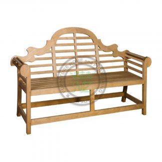Teak Outdoor Marlborough 2 Seater Bench Indonesia