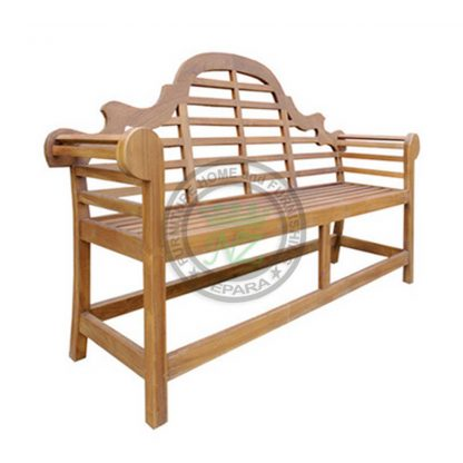 Teak Outdoor Marlborough 2 Seater Bench Jepara