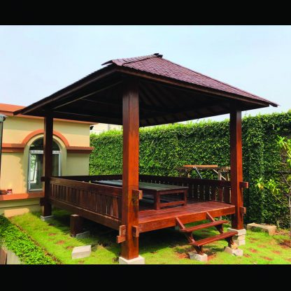 wood gazebos