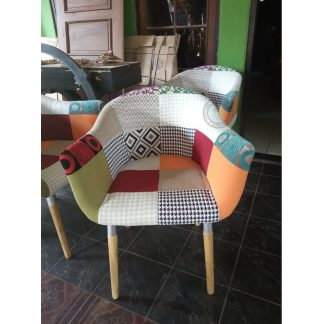 Patchwork Dining Chair For Sale