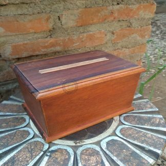 Wood Cigarette Box