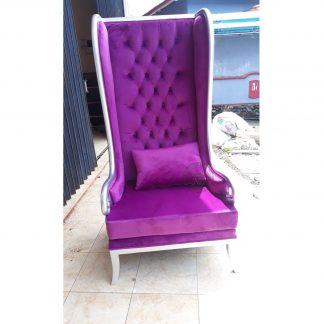 Tufted High Chair
