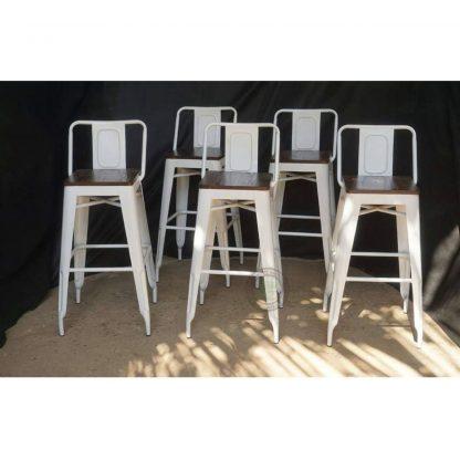 metal bar chairs
