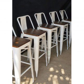 metal bar chairs
