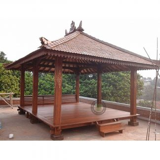 Teak Hall Gazebos Traditional