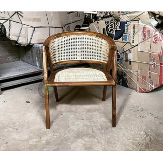 wicker dining armchairs