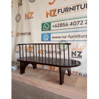 handcrafted teak bench