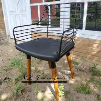 Vintage Iron Dining Chairs