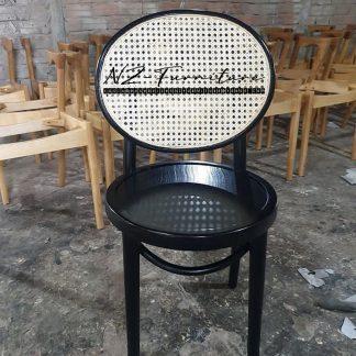 Black Rattan Chairs