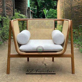 Slim Kit Rattan Accent Chair