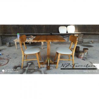 Set Vintage Restaurant Cafe Tables