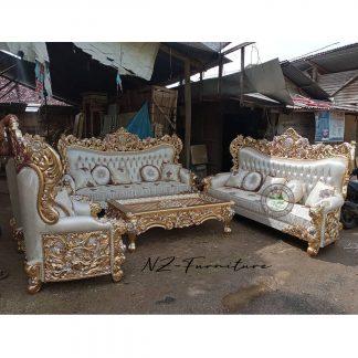 European Style Luxury Living Room Sofa
