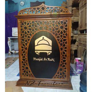 An Nahl Mosque Pulpit