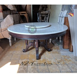 Swivel Marble Table