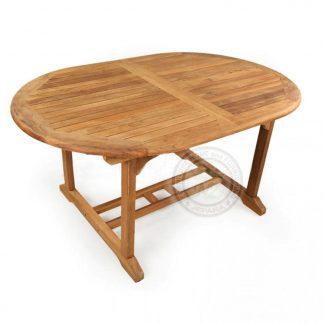 Teak Garden Ocean Oval Dining Table