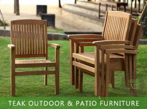 Teak Outdoor Garden and Patio Furniture