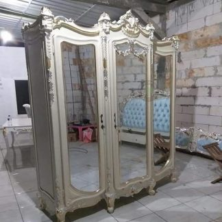 Carved classic wardrobe