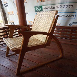 Rattan Wicker Armchairs