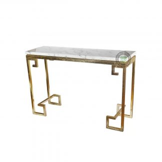Industrial Console Tables & Marble Top