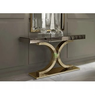 stainless console tables