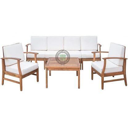 teak sofa sets