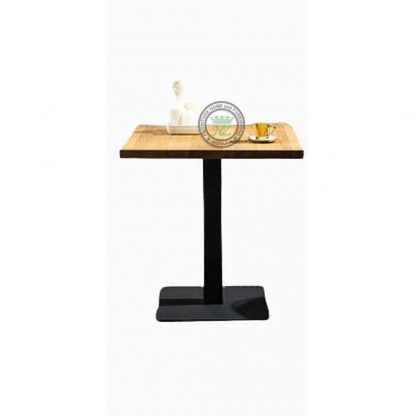 square cafe table
