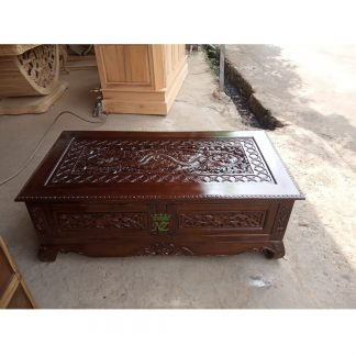 carved coffee tables