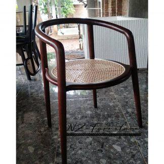 Retro Rattan Chair