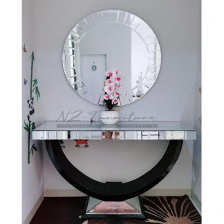 Mirror Glass Console Tables