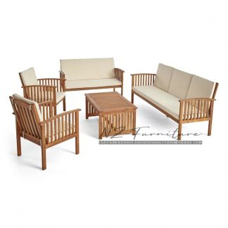 Teak Sofa Seat & Cushions