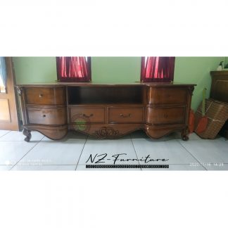 elegant teak sideboard