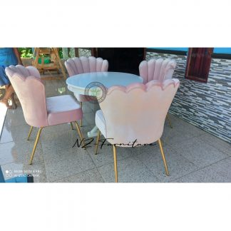 Commercial Round Dining Table Set